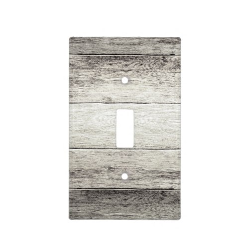 Driftwood Background Light Switch Cover