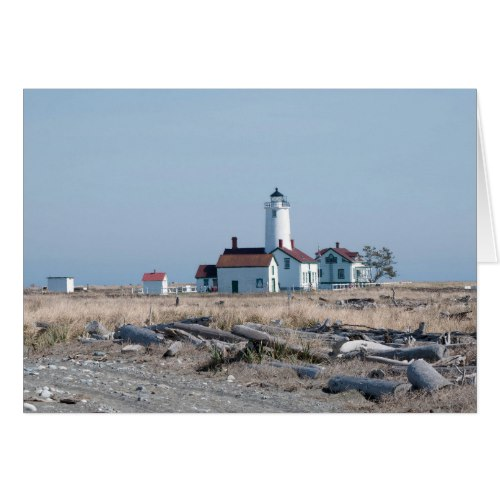 Dungeness Spit Lighthouse in Sequim, WA