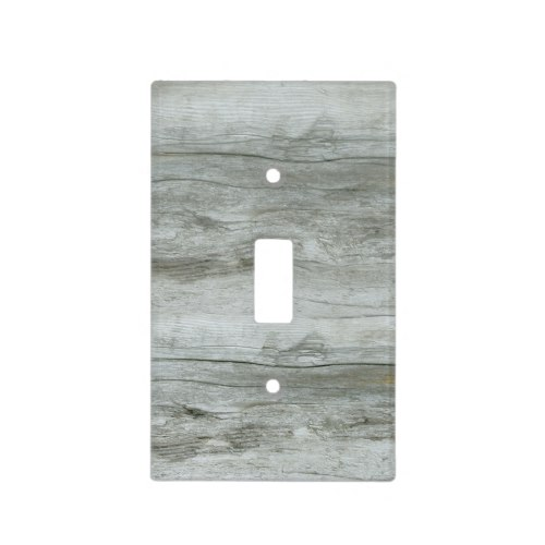 Natural Driftwood Background Texture Light Switch Cover