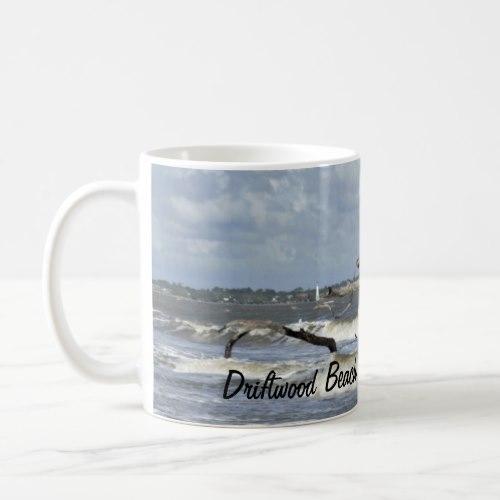 Mug Driftwood Beach Jekyll Island GA resort custom