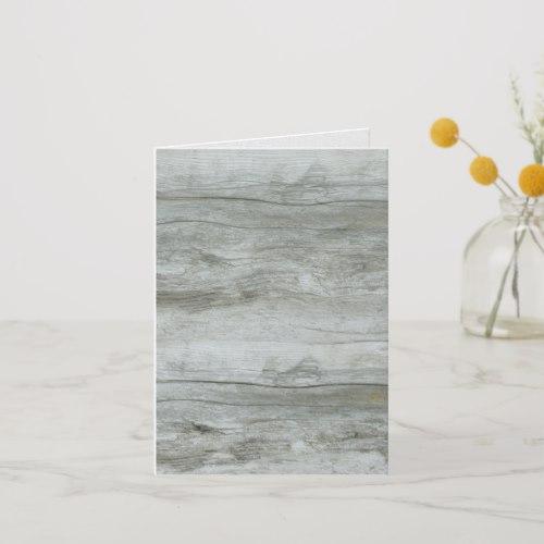 Driftwood Background Texture Card