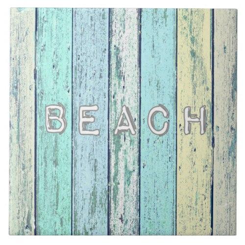 Rustic Beach Driftwood Tile